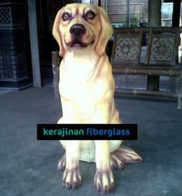 jual patung fiber anjing malang,surabaya,jogja - kerajinan fiberglass