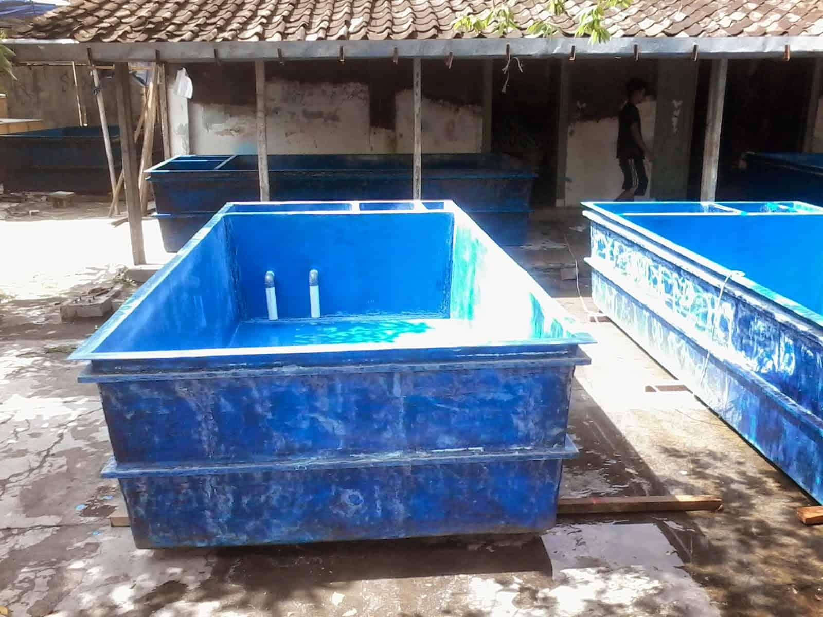 kolam fiber murah kolam fiber ikan lele koi